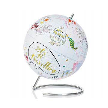 Глобус для разукрашивания Journal малый