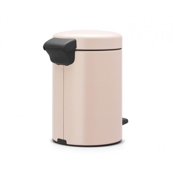 Мусорный бак с педалью New Icon 3 л чайная роза