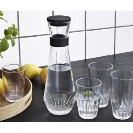 Графин для воды с силиконовой крышкой Rosendahl черный