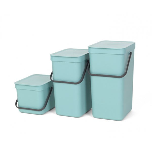 Встраиваемое мусорное ведро Sort Go 6 л мятный