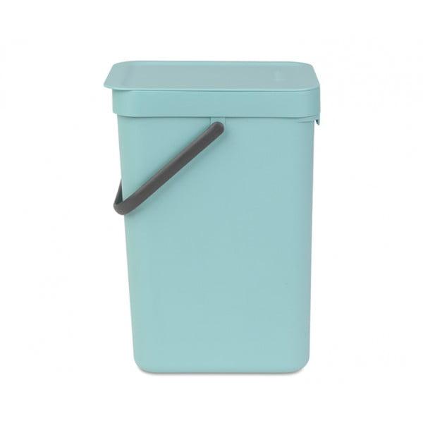 Встраиваемое мусорное ведро Sort Go 12 л мятный