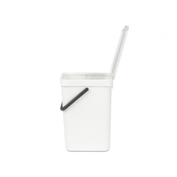 Встраиваемое мусорное ведро Sort Go 12 л белый