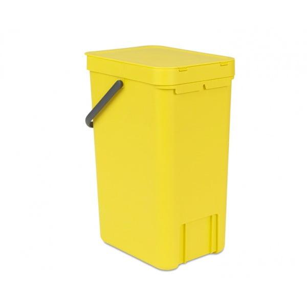 Встраиваемое мусорное ведро Sort Go 16 л желтый