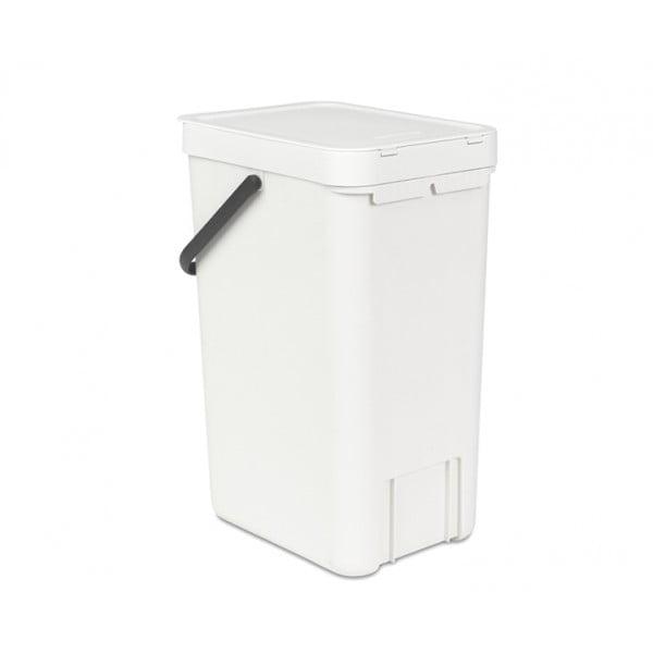 Встраиваемое мусорное ведро Sort Go 16 л белый