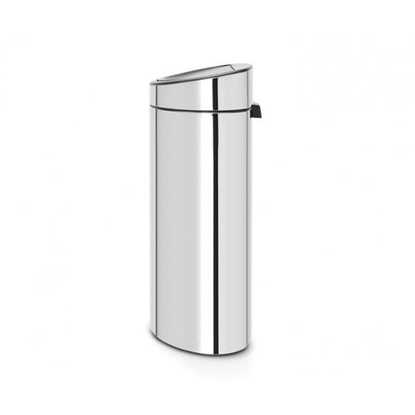 Мусорный бак Touch Bin New 40 л стальной полированный