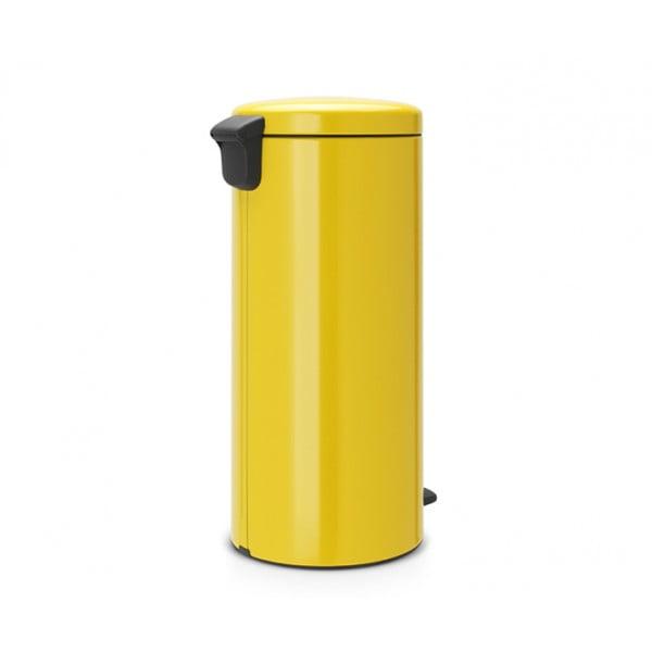 Мусорный бак New Icon 30 л желтая маргаритка