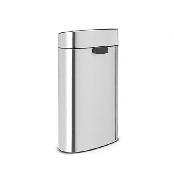 Мусорный бак Touch Bin New 40 л стальной матовый