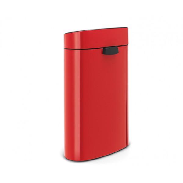 Мусорный бак Touch Bin New 40 л пламенно-красный