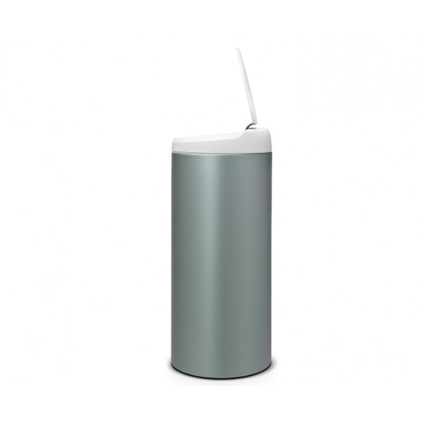 Мусорный бак Flip Bin 30 л мятный металлик