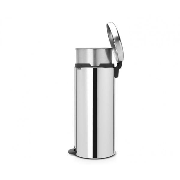 Мусорный бак New Icon 30 л металлическое внутреннее ведро стальной полированный