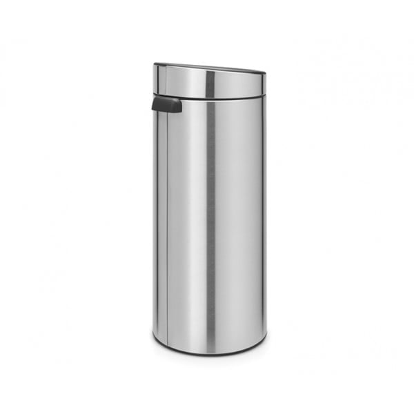 Мусорный бак Touch Bin New 30 л стальной матовый