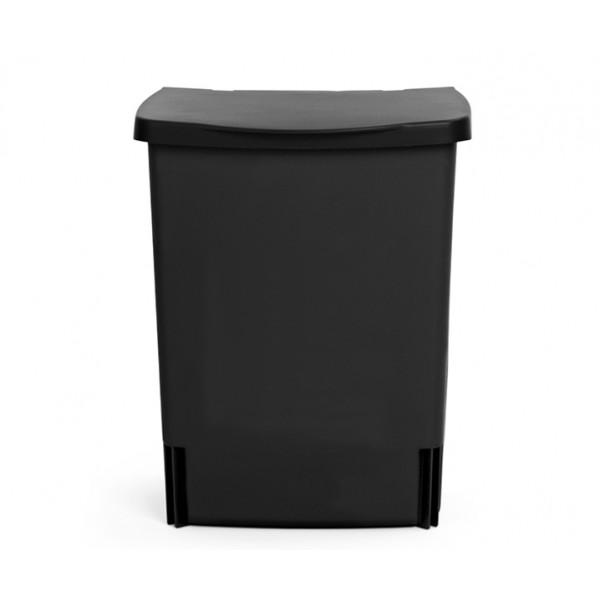 Встраиваемый мусорный бак 10 л черный