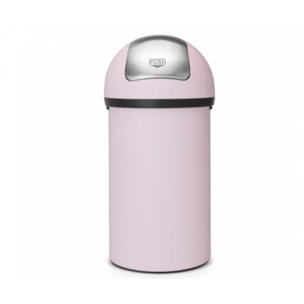 Мусорный бак Push Bin 60 л минерально-розовый