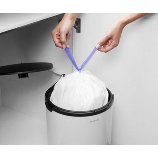 Встраиваемый мусорный бак 15 л белый