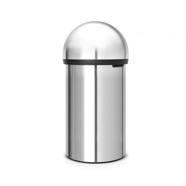 Мусорный бак Push Bin 60 л стальной матовый