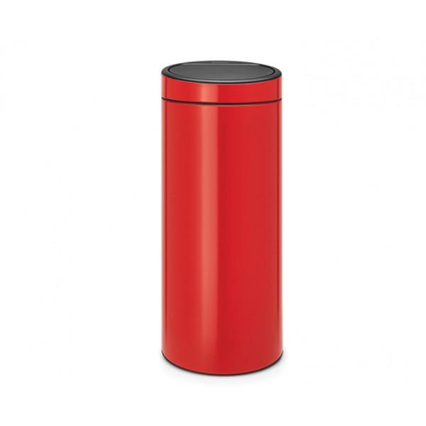 Мусорный бак Touch Bin 30 л пламенно-красный
