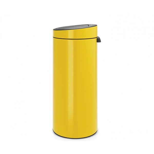 Мусорный бак Touch Bin 30 л желтая маргаритка