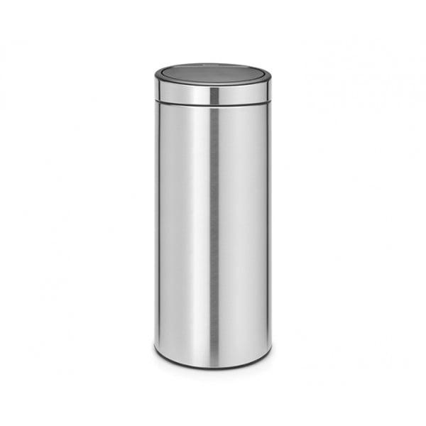 Мусорный бак Touch Bin 30 л стальной матовый FFP