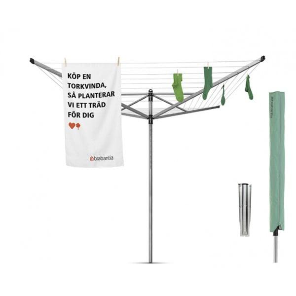 Уличная сушилка Lift-O-Matic 50 м навески с чехлом