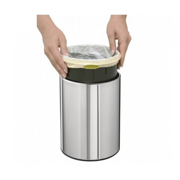 Мусорный бак Touch Bin 3 л полированная сталь
