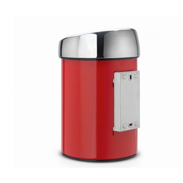 Мусорный бак Touch Bin 3 л пламенно-красный