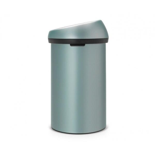 Мусорный бак Touch Bin 60 л мятный металлик