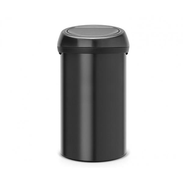 Мусорный бак Touch Bin 60 л черный матовый