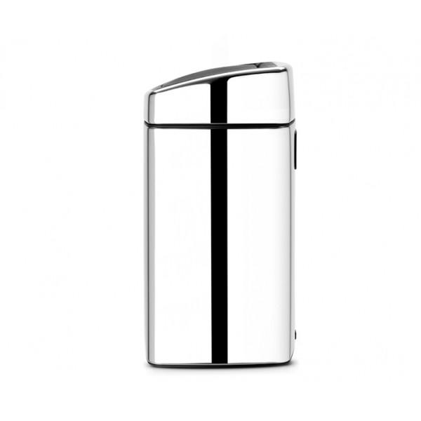 Мусорный бак Touch Bin прямоугольный 10 л полированная сталь