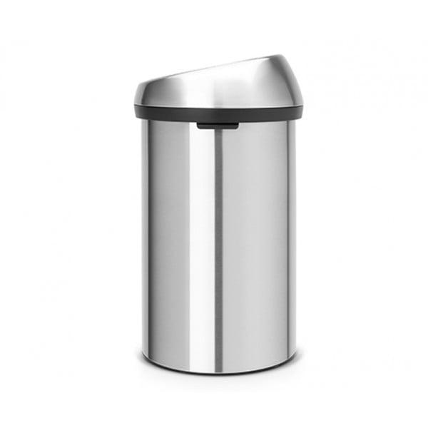 Мусорный бак Touch Bin 60 л стальной матовый FFP