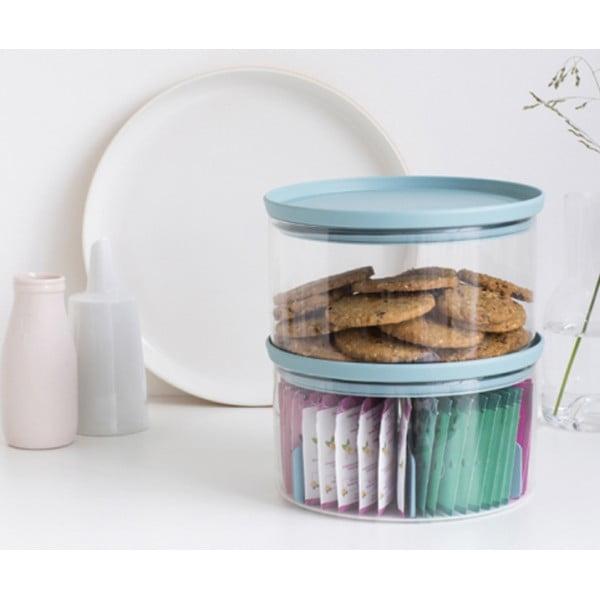 Модульная стеклянная банка для пакетированного чая