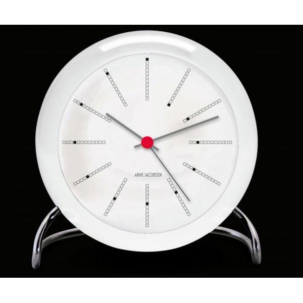 Настольные часы AJ Bankers белые