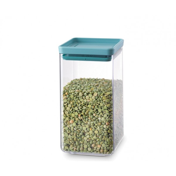 Прямоугольный контейнер 1,6 л мятный