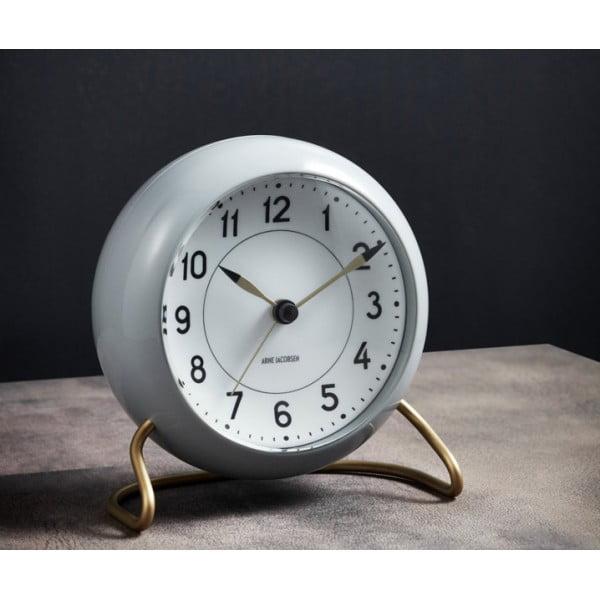 Настольные часы AJ Station светло-серый