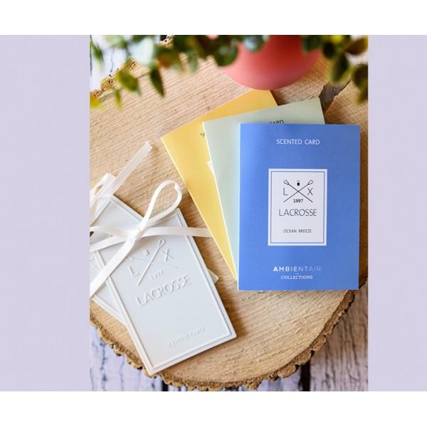 Карточка ароматическая Османтус и Бурбон