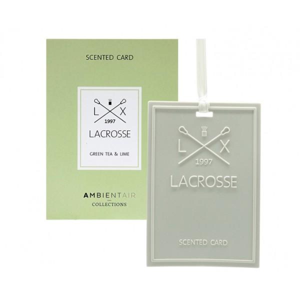 Карточка ароматическая Зеленый чай и Лайм
