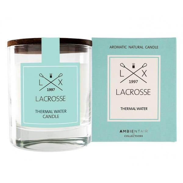 Свеча ароматическая в стекле Термальный источник Lacrosse круглая