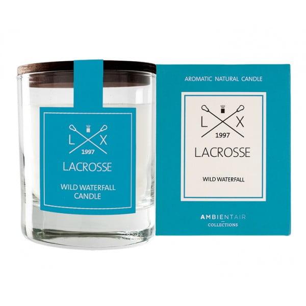 Свеча ароматическая в стекле Дикий водопад Lacrosse круглая