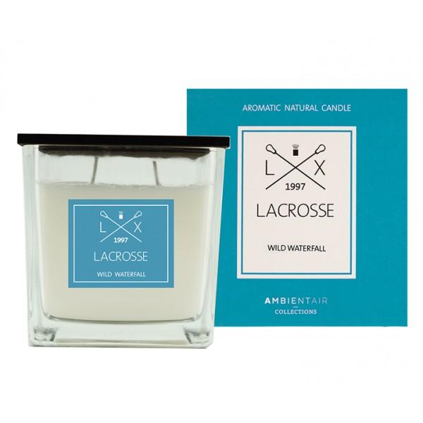 Свеча ароматическая в стекле Дикий водопад Lacrosse 10х10 см