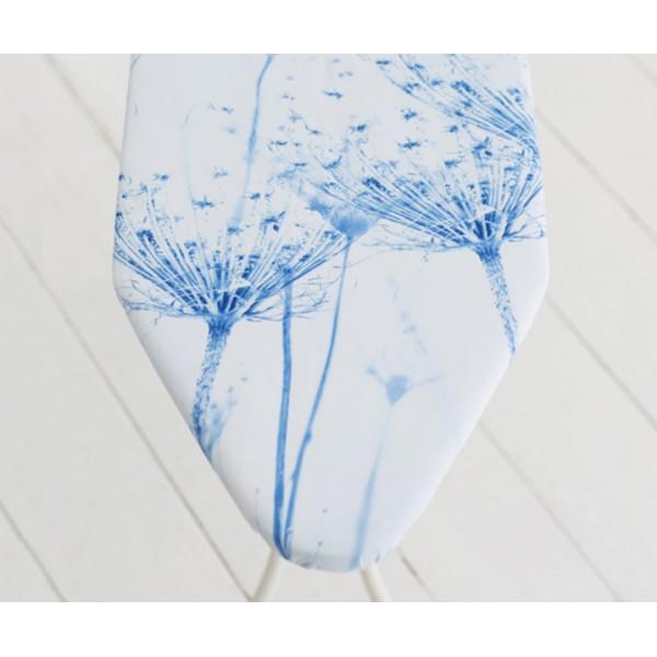 Гладильная доска 124х45 см (С) цветок хлопка