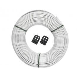 Сменные бельевые веревки для сушилок 65 м с 16 фиксаторами