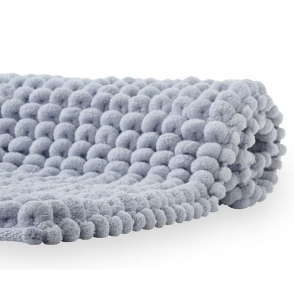 Коврик для ванной Aquanova LUKA 60х100 см голубой
