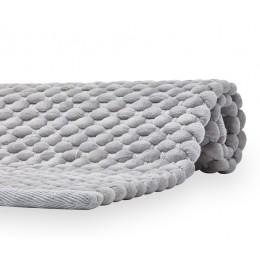 Коврик для ванной Aquanova MAKS 60x100 серый
