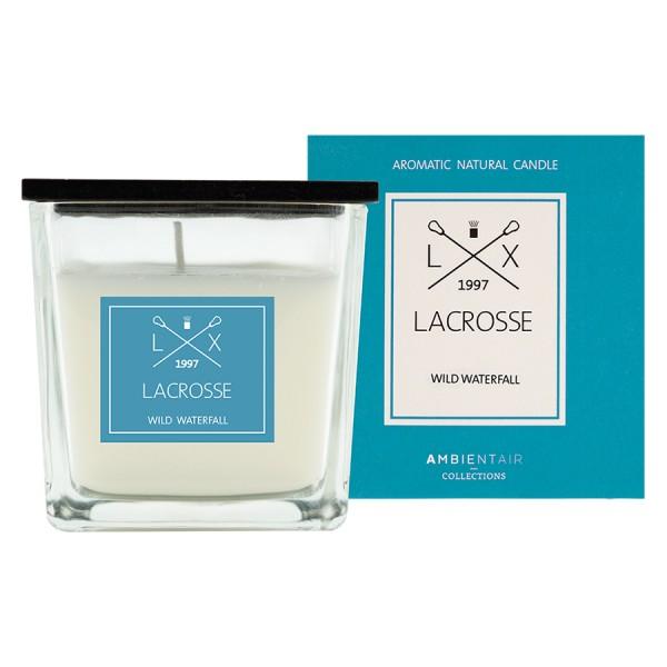Ароматическая свеча в стекле Дикий водопад Lacrosse 8*8 см