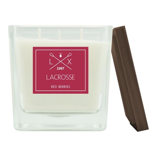 Свеча ароматическая в стекле Красные ягоды 10х10 см