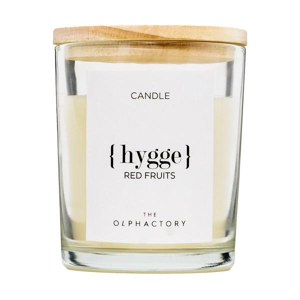 Ароматическая свеча HYGGE - Красные Фрукты, 40 ч