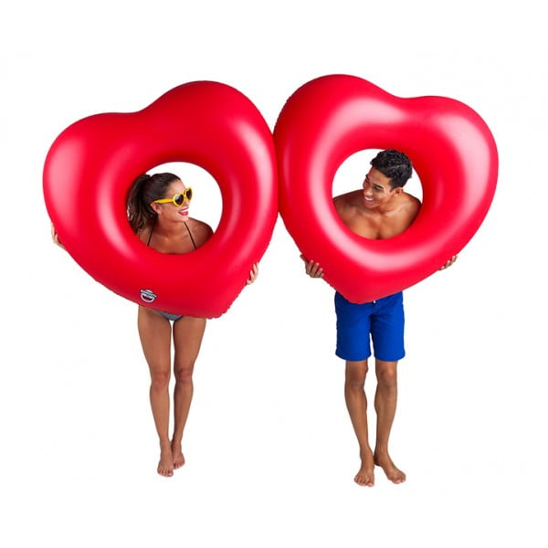 Набор кругов для бассейна Two Hearts is Better then One 2 шт