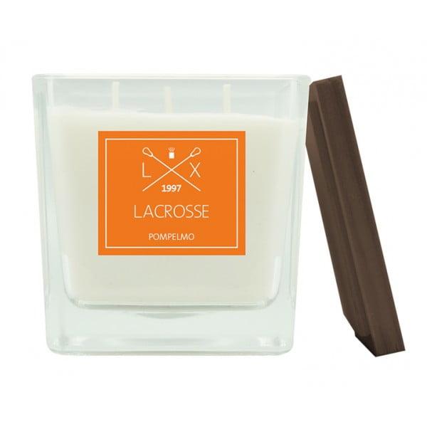 Свеча ароматическая в стекле Грейпфрут 10х10 см
