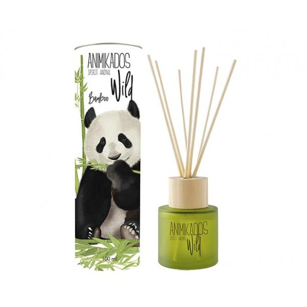 Диффузор ароматический Panda - бамбуковый Wild 100 мл