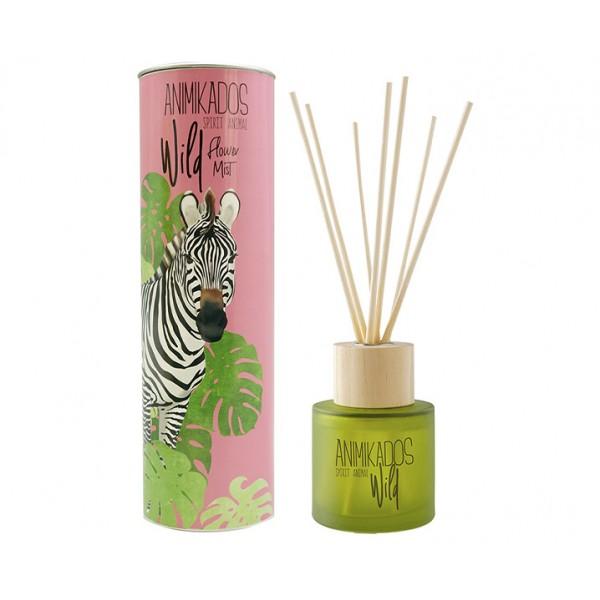 Диффузор ароматический Zebra - цветочный Wild 100 мл