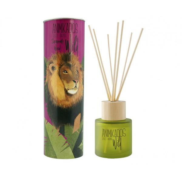 Диффузор ароматический Lion - древесный Wild 100 мл
